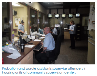 P&P Supervise at Community Supervision Center