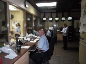 P&P Assistants supervise offenders in Community Supervision Center