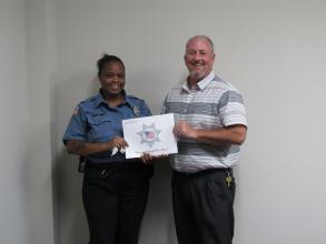 Ke'Kella Jones received assistance from the Corrections Peace Officer Foundation
