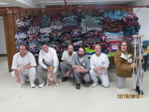 RJ Offenders and Blankets & Hannah Cole Tie Blanket Give-Away