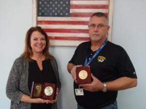 Shannon Twenter and David Howard 30 Year Service Awards